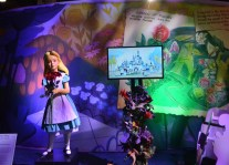 An original Alice from the Alice in Wonderland Attraction in Disneyland