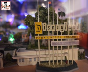 Disneyland Entrance sign - part of a main street USA model.