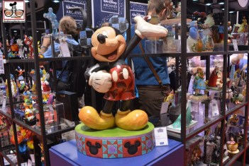 The Walt Disney Archives Collection showcased numerous figurines