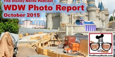 The Disney Nerds Podcast October 2015 Walt Disney World Photo Report