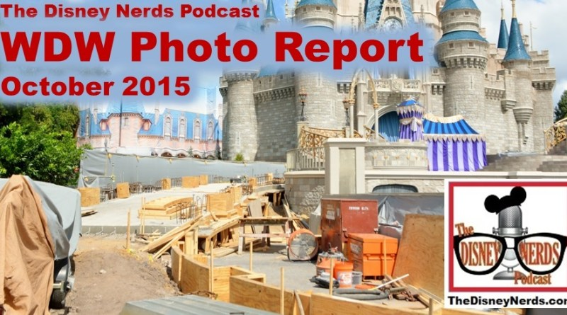 The Disney Nerds Podcast October 2015 Walt Disney World Photo Report
