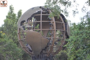 Always great to see the Illuminations Globe up close.