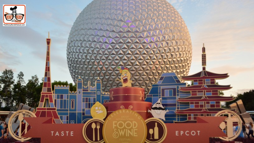 """The 20th Anniversary of the Epcot International Food and Wine Festival.. """"Taste Epcot"""" The new """"Taste Buds"""" show up in a few places this year..."""