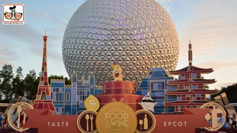 "The 20th Anniversary of the Epcot International Food and Wine Festival.. ""Taste Epcot"" The new ""Taste Buds"" show up in a few places this year..."