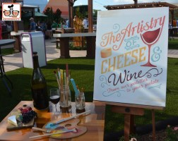 New for 2015 - The Artistry of Cheese and Wine - located on the walk way from Imagination to Canada