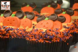 Hollywood Studios Pumpkin Cupcake