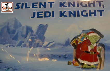 The Season of the Force is getting closer.... Silent Knight, Jedi Knight... Won't be long till someone finished the song.