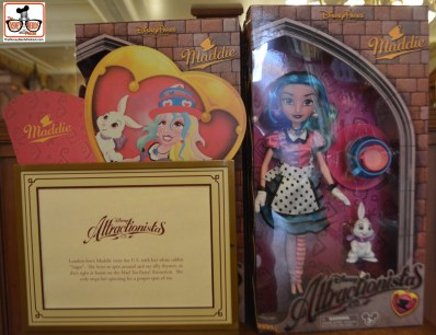 Attractionistas - new collectible line of fashion dolls, each celebrating a classic Disney attraction. This is Maddie - from the Tea Cups