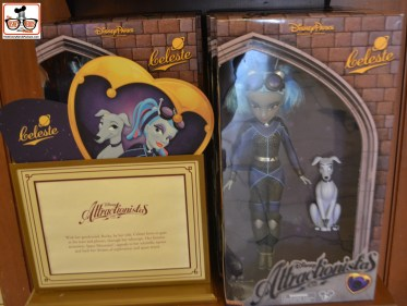 Attractionistas - new collectible line of fashion dolls, each celebrating a classic Disney attraction. This is Celeste is from Space Mountain.
