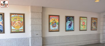 Wait... what happened to all the maps under the attraction posters?