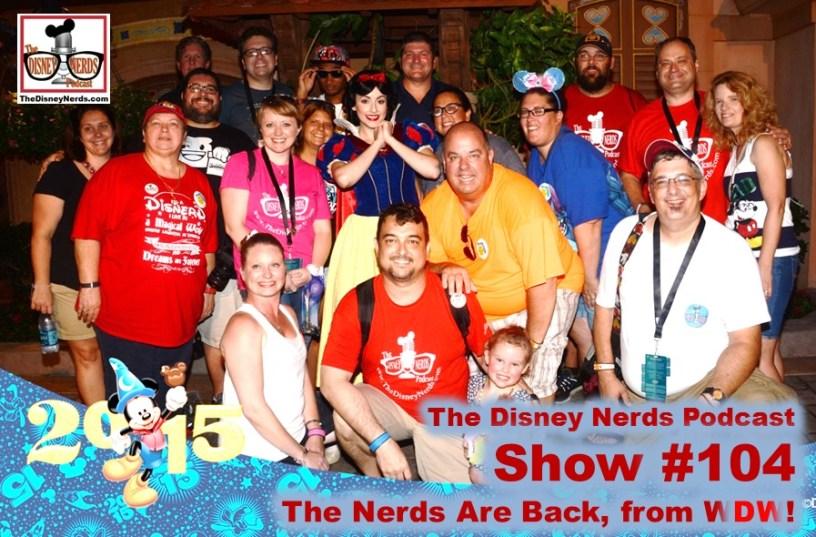 The Disney Nerds Podcast Show #104