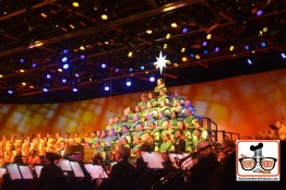 2015-12 - Epcot - The Candlelight Processional is a must see in the American Garden Theater -