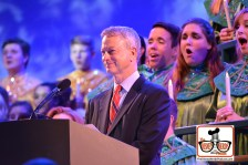 2015-12 - Epcot - The Candlelight Processional is a must see in the American Garden Theater - Here Gary Sinise Narrates