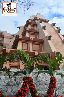 "2015-12 - Epcot - Holidays Around the World in Mexico is ready for the holidays (along with a new ""No Climbing"" sign)"