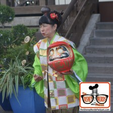 2015-12 - Epcot - Holidays Around the World in Japan you can hear the story of the Daruma Dall