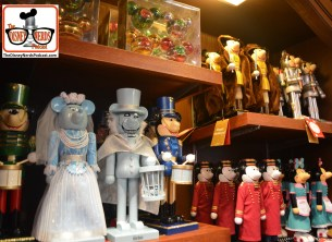 2015-12 - Hollywood Studios - Lots of Nutcrackers in the studios Christmas store... including Jedi Mickey?