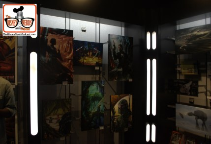 2015-12 - Hollywood Studios Launch Bay Props and full costumes for sale in the gift shop