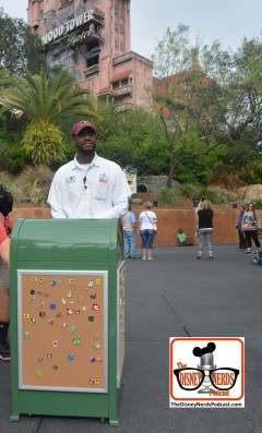 2015-12 - Hollywood Studios - Another Garbage Can Pin Board