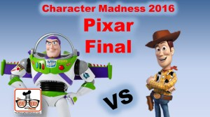 Character Madness Round 4 - Pixar Final