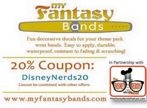 The Disney Nerds Podcast Sponser - MyFantasyBands.com use Discount Code DisneyNerds20 for 20% off