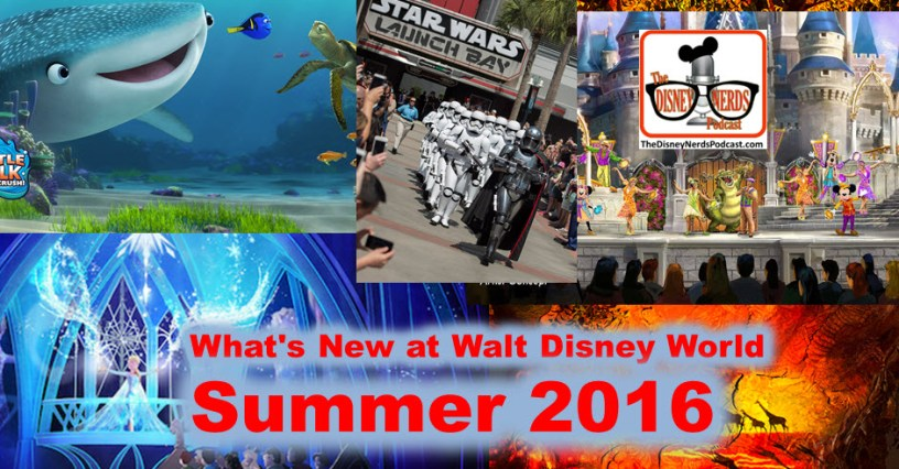 The Disney Nerds Podcast - Summer 2016 Preview