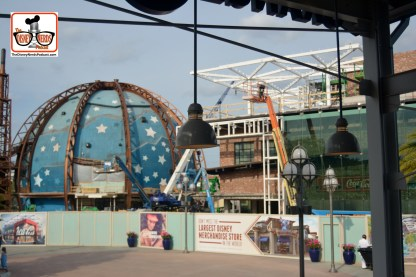 DNP April 2016 Photo Report: Disney Springs: World of Coke - next to Planet Hollywood.
