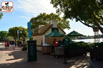 DNP April 2016 Photo Report: Epcot Flower and Garden Festival. Outdoor Kitchens ready for a busy day.