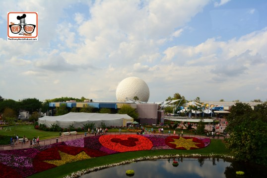 DNP April 2016 Photo Report: Epcot Flower and Garden Festival - Festival Blooms from the Monorail