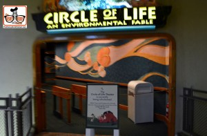 DNP April 2016 Photo Report: Epcot Circle of Life is also down