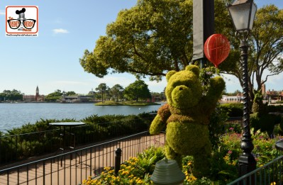 DNP April 2016 Photo Report: Epcot Flower and Garden Festival. Winnie the Pooh found a new how for 2016