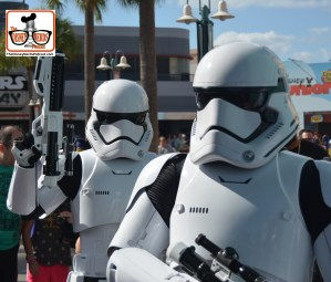 DNP April 2016 Photo Report: Troopers in Animation Courtyard.