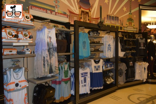 "DNP April 2016 Photo Report: The ""Everything Frozen"" Store is now ""Everything Star Wars"" but mostly ladies apparel."