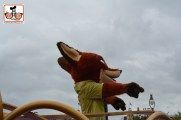 DNP April 2016 Photo Report: Magic Kingdom: Nick Wilde is part of the Move it shake it..