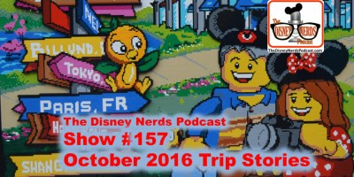 The Disney Nerds Podcast Show #157 - More stories from the Parks