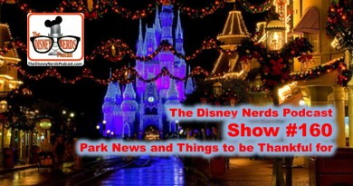 The Disney Nerds Podcast - Show #160 Park News