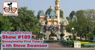 The Disney Nerds Podcast Show #189 - Disneyland First Timers Guide