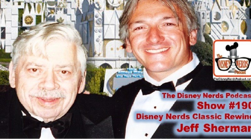 The Disney Nerds Podcast show #190 - Classic Rewind with Jeff Sherman