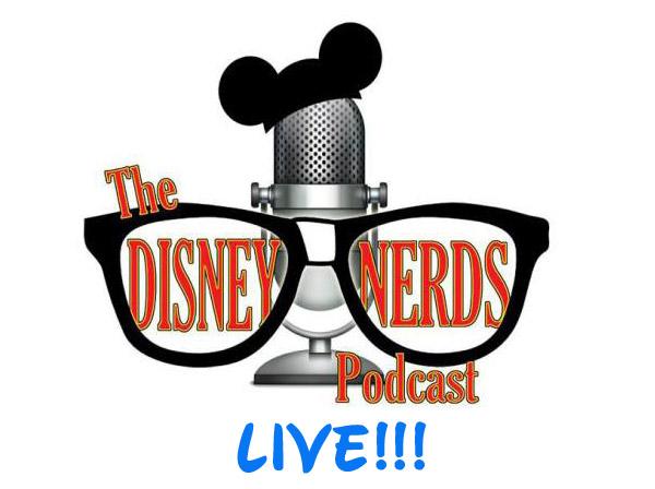 Disney Nerds LIVE logo