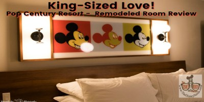 King-Sized love! A Pop Century remodeled room review. - The Disney Nerds Podcast www.thedisneynerds.com