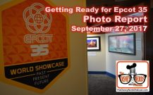 The Disney Nerds Podcast Epcot 35 Legacy Showplace Photo Report