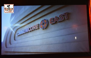 Epcot Legacy Showplace - Communicore East - From the Epcot History Slide Show #Epcot35