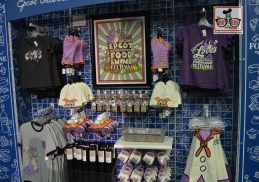 Festival Merchandise inside the Festival Center. Epcot Food and Wine Festival 2017