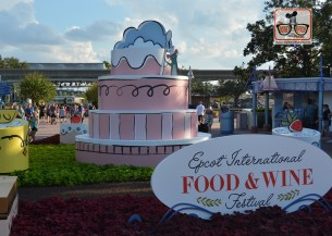 Epcot Food and Wine Festival 2017 - Walk way to World Showcase
