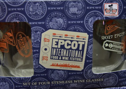 Epcot Food and Wine Festival 2017 Glass set