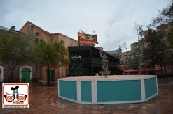 The Muppet Court Yard is looking great - Miss Piggy Fountain is getting some rework..