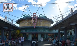 Flo's V8 Cafe complete with webbing for Haul-o-ween