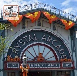Halloweentime on Main Street USA - Disneyland