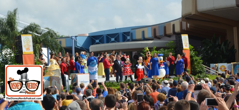 Mickey and Friends help to close the Epcot 35 Celebration