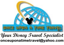 """The Disney Nerds Podcast is brought to you by """"Once Upon a Time Travel"""" your Disney Travel Specialist"""