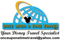 "The Disney Nerds Podcast is brought to you by ""Once Upon a Time Travel"" your Disney Travel Specialist"